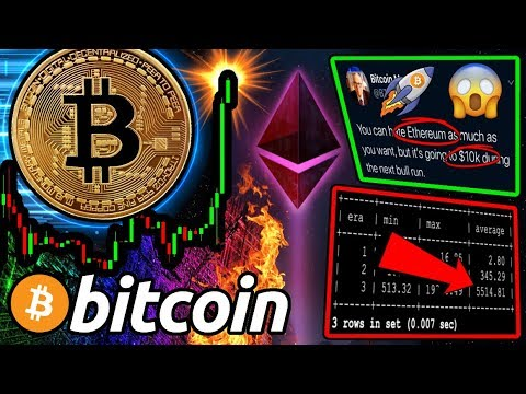 BREAKING: Crypto YouTube BACK!!! BITCOIN BREAKOUT?! ETH to $10k!? 2020 Forecast 🚀