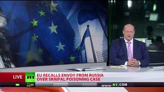 EU recalls Russia envoy & backs UK belief Moscow 'highly likely' responsible for Skripal poisoning