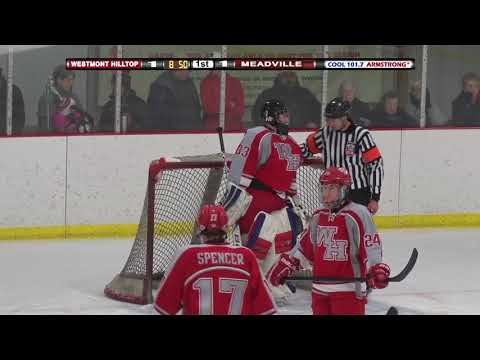 HS Hockey Playoff: Westmont Hilltop vs Meadville (March 8, 2018)