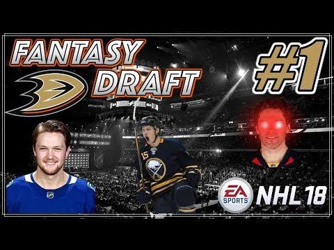 NHL 18 Franchise Mode - Fantasy Draft #1