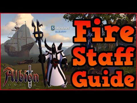 Albion Online l Full FIRE STAFF Guide