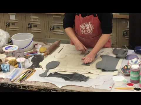 Carol Gouthro: Tar Paper Technique Ceramics Demonstration