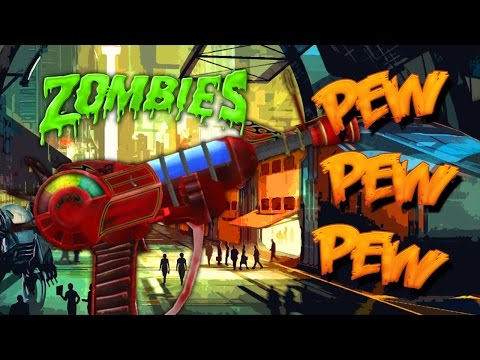 Thumbnail: ZOMBIE RAYGUN CHALLENGE (Black Ops 3 Custom Zombies)
