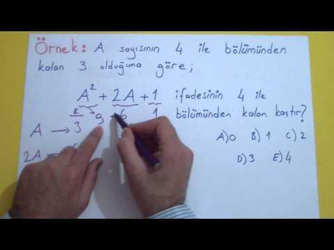 Matematik Konu Anlatımı Videosu Şenol Hoca Matematik