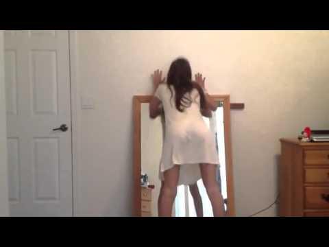 Twerking with my dress xx