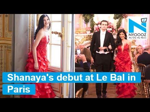 Shanaya Kapoor makes her debut at Le Bal in Paris Mp3