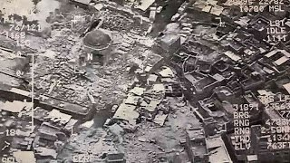 IS blows up Mosul mosque where Baghdadi became 'caliph'