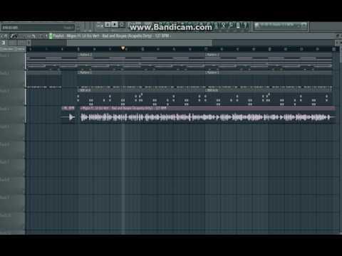 migos (cocoon with bad and boujee acapella) FL Studio
