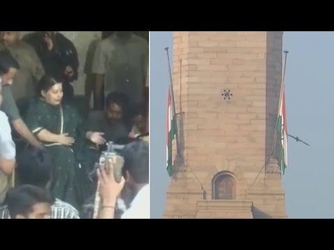Watch   J. Jayalalithaa to be accorded state funeral
