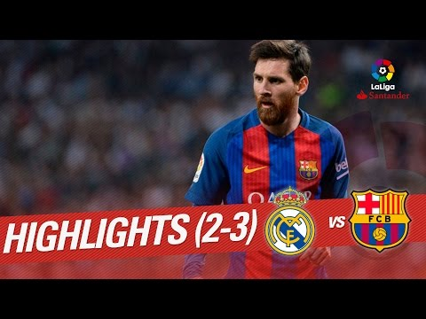 Resumen de Real Madrid vs FC Barcelona (2-3)