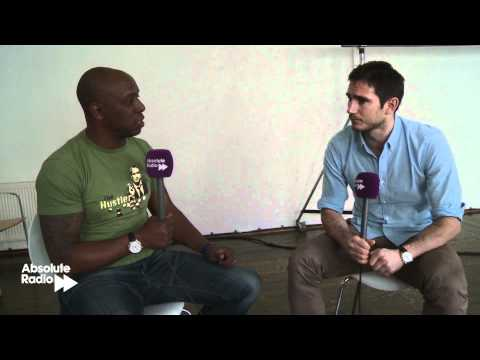 Ian Wright interviews Frank Lampard about Chelsea and the Champions League