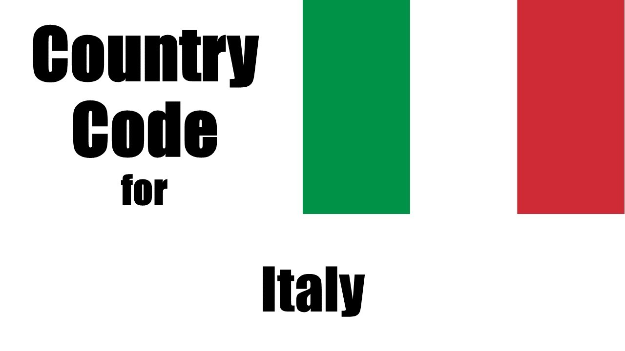 Italy Dialing Code Italian Country Code Telephone Area Codes In Italy Youtube