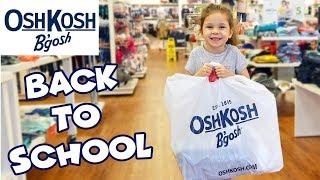 OshKosh B'gosh Back To School Clothes Shopping Spree