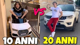 10 ANNI VS 20 ANNI - DIFFERENZE