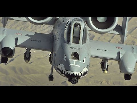A-10 Warthog Live Fire Training Mission - Awesome Sound!