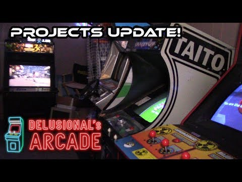Arcade Projects Update! [Summer 2017]