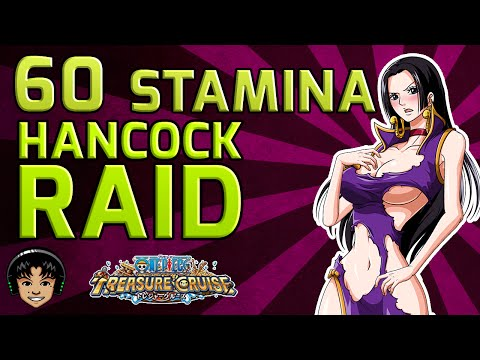 Walkthrough for Boa Hancock 60 Stamina Raid [One Piece Treasure Cruise]