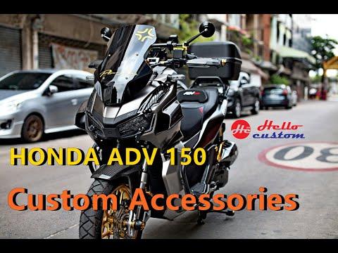 รีวิว แต่ง ADV150 HONDA ADV 150 Custom modificasi Thailand Review