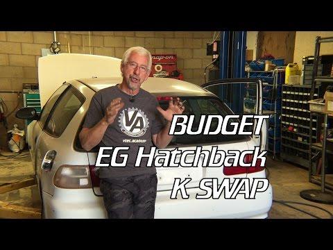 Civic EG Budget K SWAP Part 1
