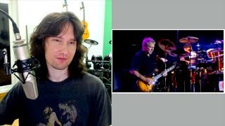 British guitarist reacts to Rush's killer live performance of YYZ