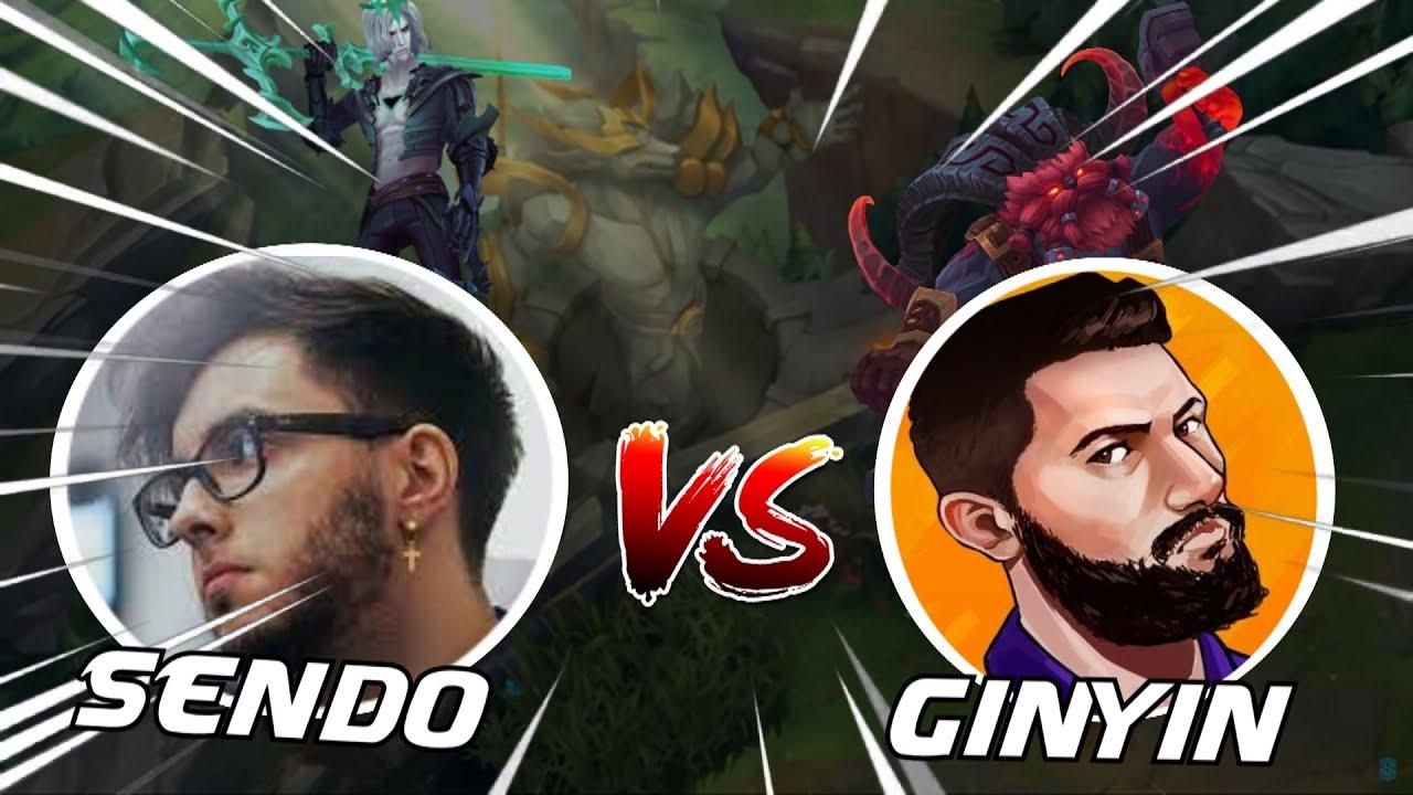 SEND0O VS GINYIN - QUIEN SE PODRÁ CARRILEAR EL GAME? ⚔ - Send0o
