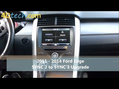 SYNC 2 to SYNC 3 Upgrade | 2011 - 2014 Ford Edge