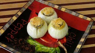 Real Baked Stuffed Onion Recipe
