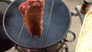 Ribs On The Pit Barrel Cooker