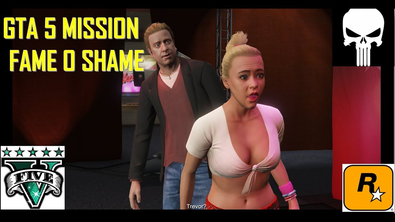 GTA V GAME PLAY l Michael Catches Tracey Doing Sexy