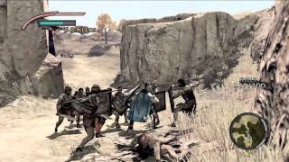 Warriors: Legends of Troy - Patroclus gameplay [Xbox 360]