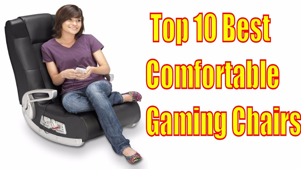 Comfortable Chair For Gaming Fishing Korum Best Chairs 2017 Top 10 Gamingchairs