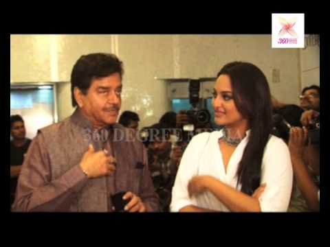 """Shatrughan Singh praising her daughter role """"Dabangg"""" & """"Lootera"""", he learn to acting form Sonakshi Mp3"""