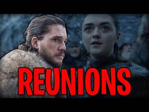LEAKED! All Confirmed Reunions! Game of Thrones Season 8 Major Spoilers