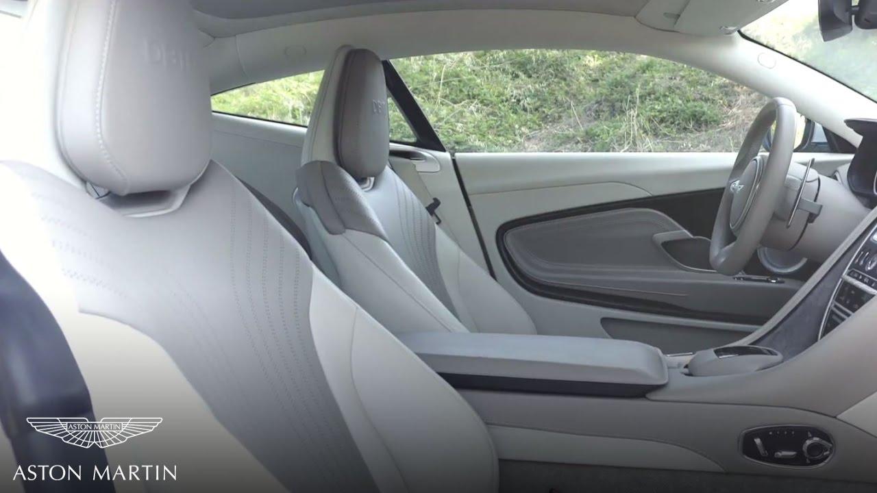 Operating The Seating Controls Aston Martin Db11 Youtube