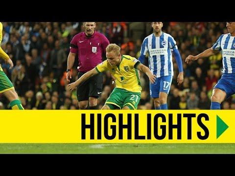 HIGHLIGHTS: Norwich City 2-0 Brighton & Hove Albion