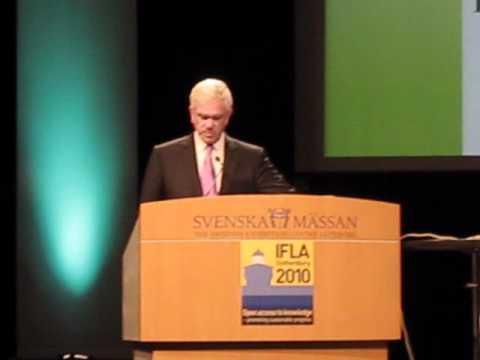 Jay Jordan OCLC/IFLA fellows 2011