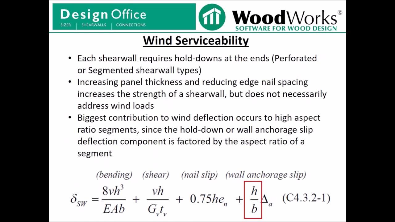 U S  Shearwalls Wind Loads - Part 1