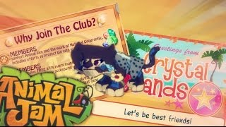 Animal Jam: Beta Account Tour