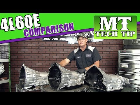 4L60E Comparison Curt's Corner | Monster Transmission - YouTube