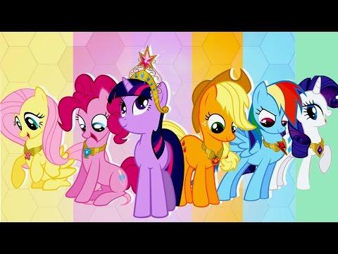 My Little Pony-Свадьба в Кантерлоте.Поможем Маленьким  Пони провести Королевскую Свадьбу.Мультик