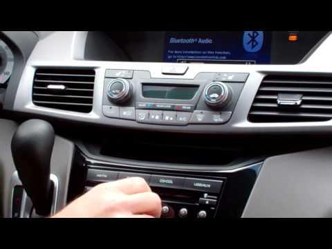 Using Honda Bluetooth Audio