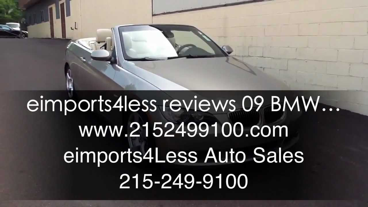 Eimports4less Reviews 2009 Bmw 328i Convertible For