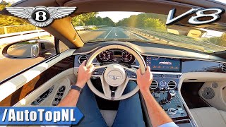 2020 Bentley Continental GT V8 Convertible POV Test Drive by AutoTopNL