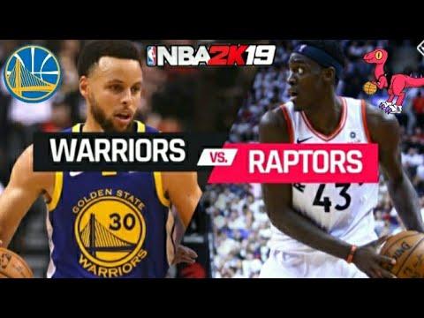NBA 2K19 Gameplay: Raptors VS Warriors