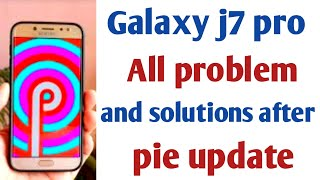 Видео, Galaxy j6 problem solutions after pie update