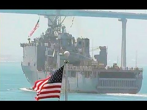 US Navy: USS Rushmore (LSD 47) Welcome Home, May 14 2013, San Diego