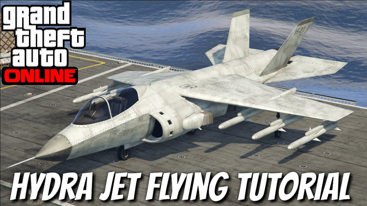 How to Fly the Hydra Jet in GTA 5 Online