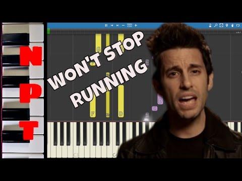 A Great Big World - Won't Stop Running  - Piano Tutorial