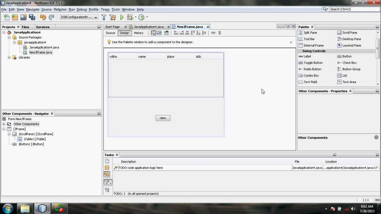 sample java netbeans project - YouTube