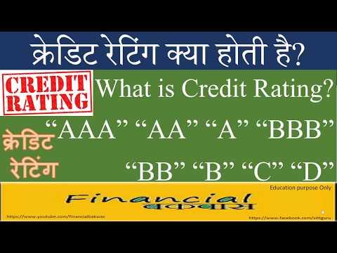क्रेडिट रेटिंग क्या होती है? What is Credit Rating?